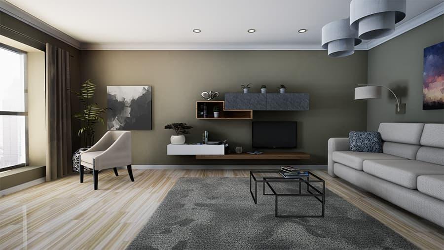 diseño de un espacio interior