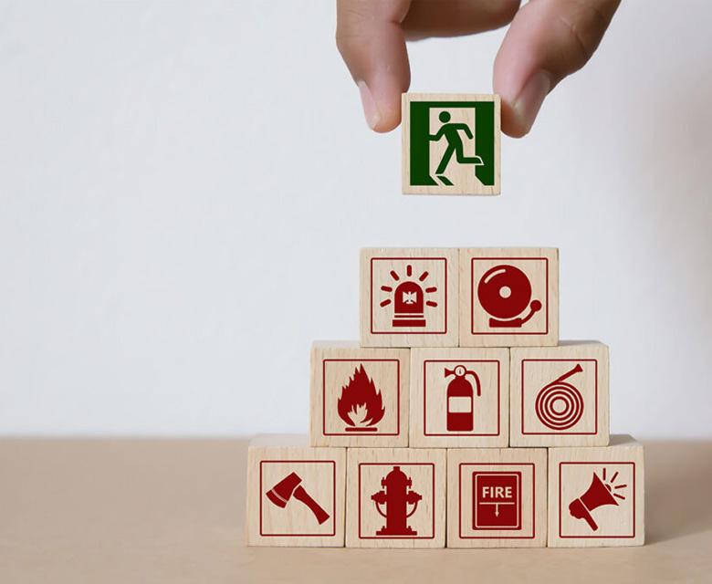 proteger contra un incendio